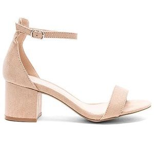 By the way. | Angie Nude Heels with Box | 8.5